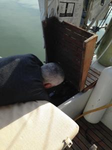 Boat yoga!