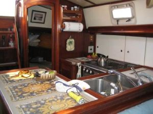 "Our Galley (from the ""for sale"" pictures - we don't have any good photos of the inside yet...)"